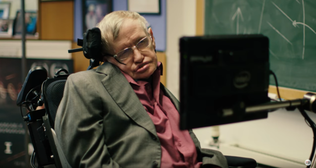 Stephen Hawking on Red Nose Day 2017