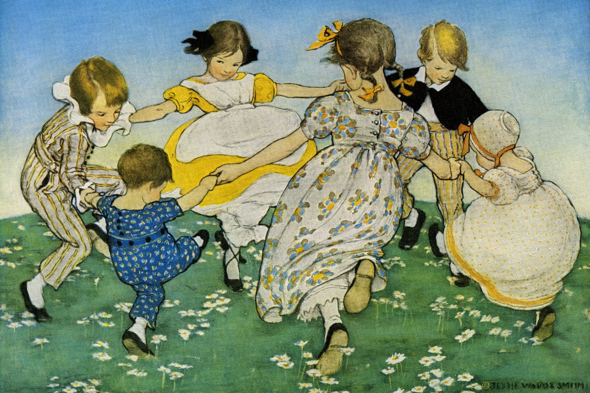 An illustration by Jessie Wilcox Smith