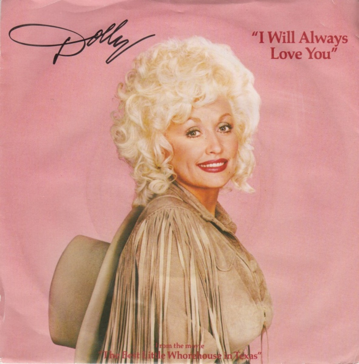 "Dolly Parton's cover of ""I Will Always Love You"""