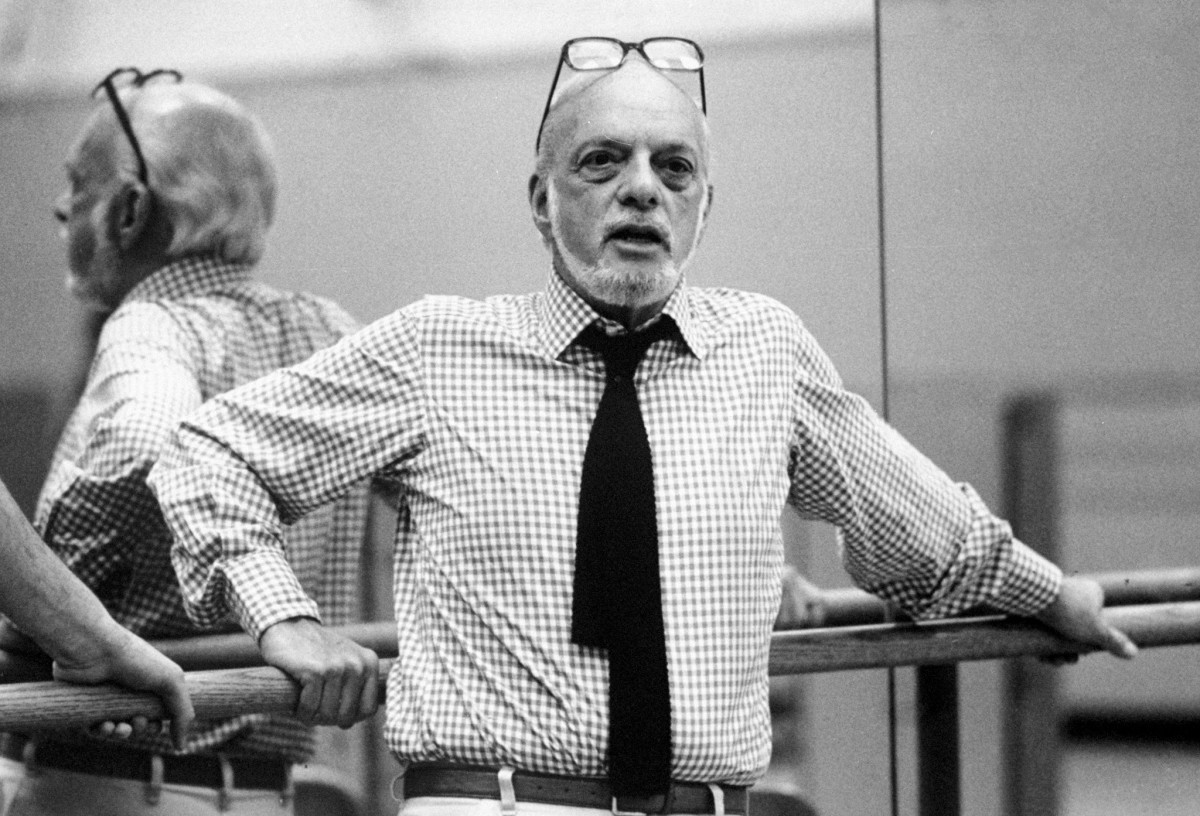Hal Prince during rehearsal for 'Don Giovanni.'