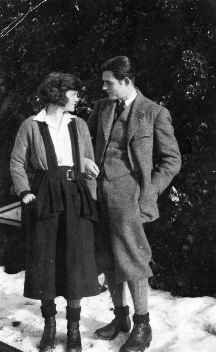 Ernest Hemingway and Hadley Richardson