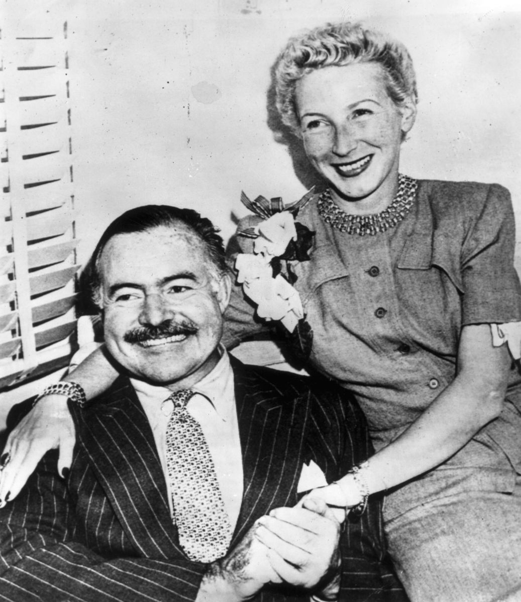 Ernest Hemingway and Mary Welsh