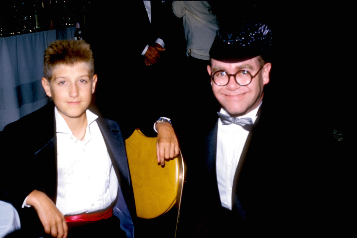 Ryan White and Elton John