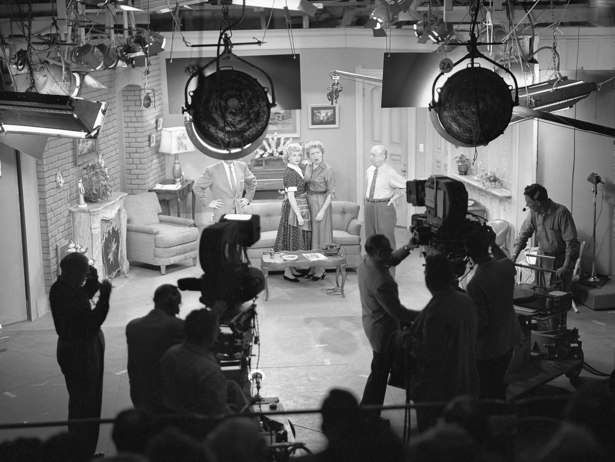 Behind the scenes of I Love Lucy