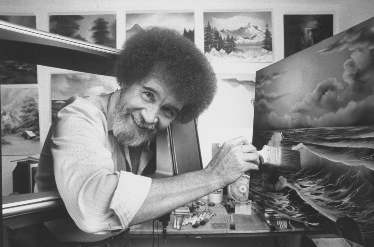 How Bob Ross' Time in the Air Force Inspired His Paintings