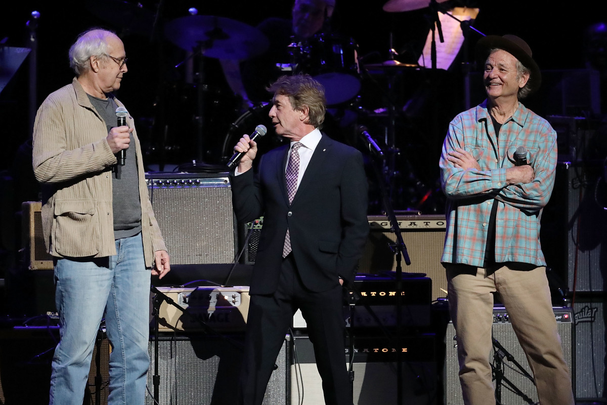 Chevy Chase, Martin Short, and Bill Murray