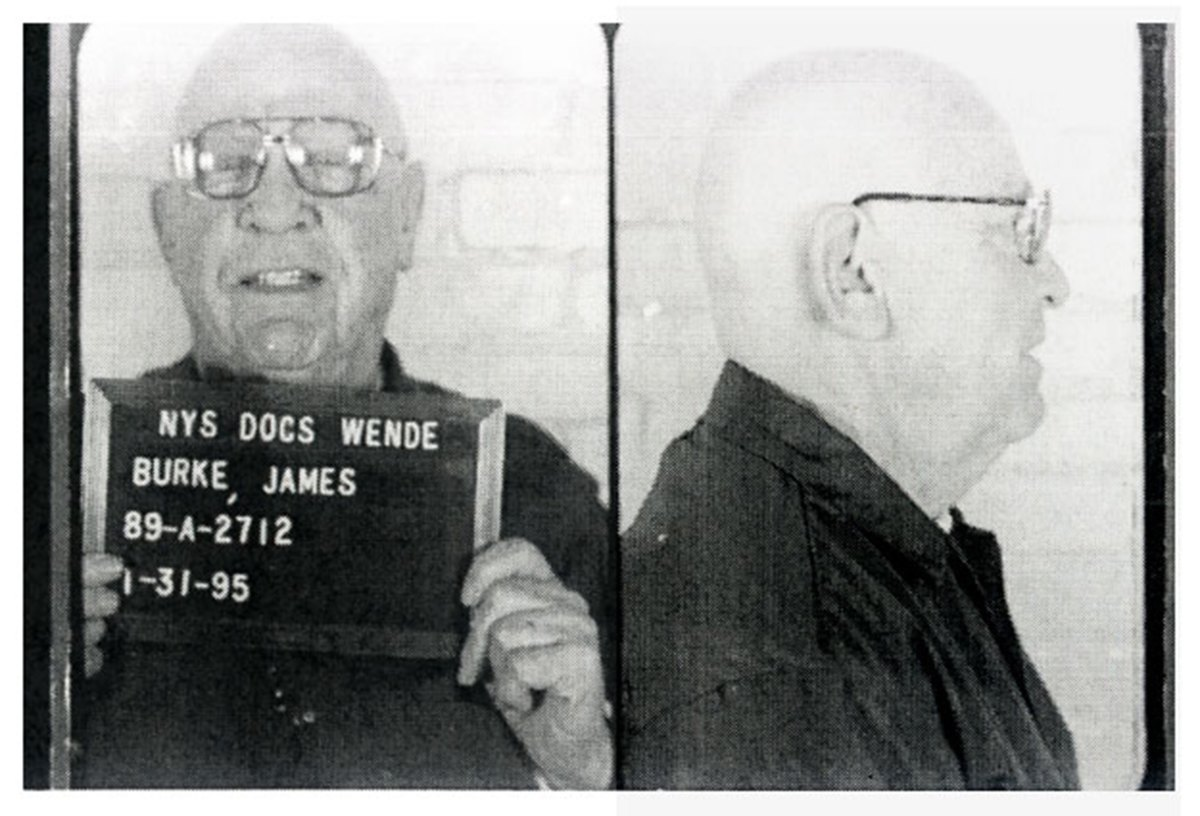 Jimmy Burke mugshot, January 31, 1995