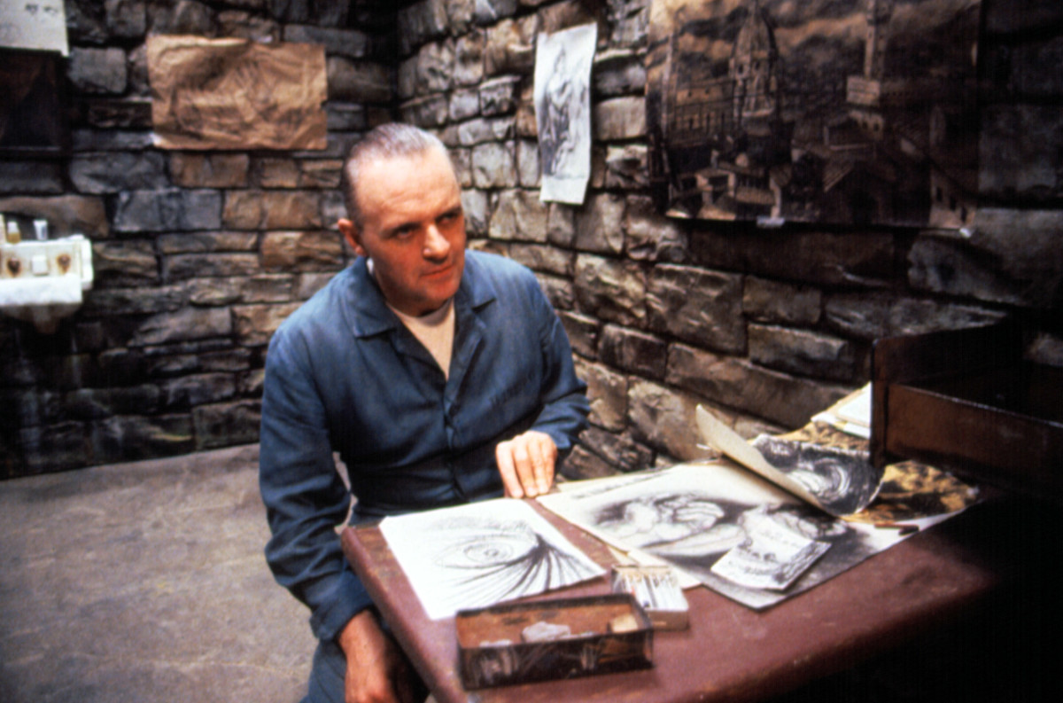 Hannibal Lecter Anthony Hopkins Silence of the Lambs