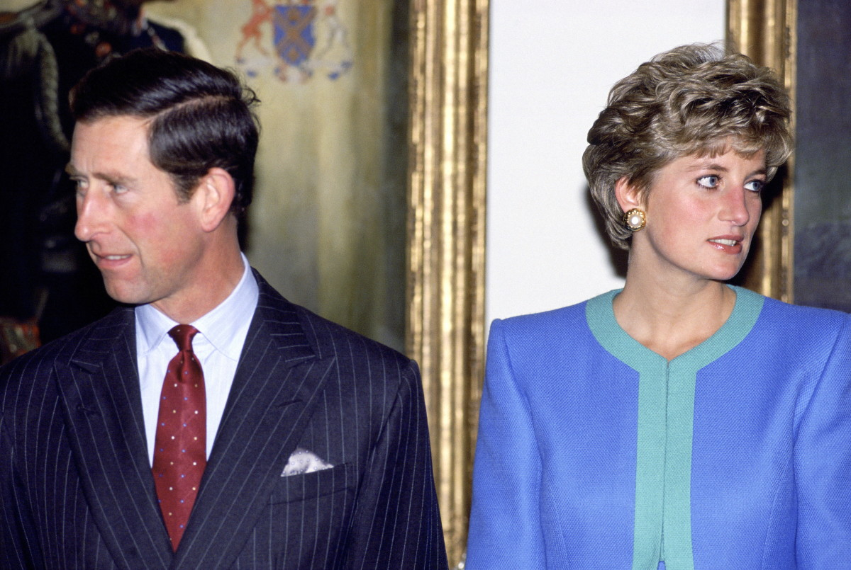 Prince Charles and Princess Diana during a visit to Ottawa, Canada in October 1991