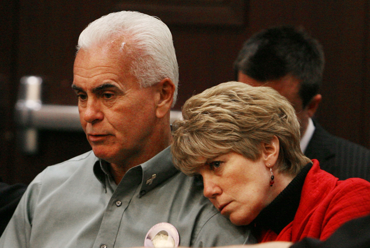 George and Cindy Anthony during a hearing for their daughter, Casey Anthony, at the Orange County Courthouse in Orlando, Florida on March 2, 2009