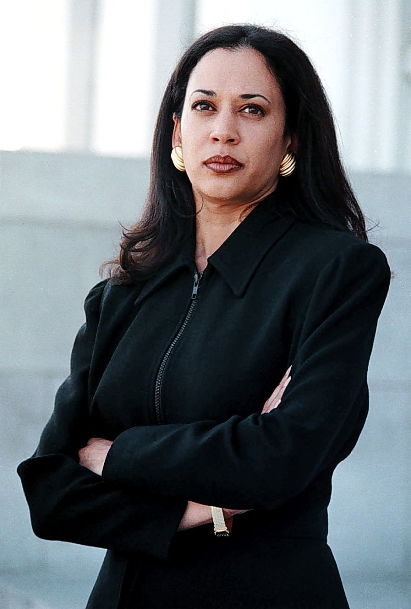 Kamala Harris in March 1997