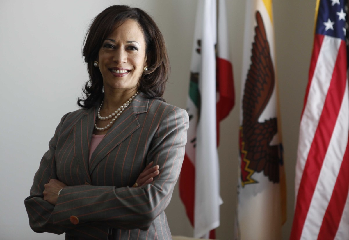 Kamala Harris in April 2009