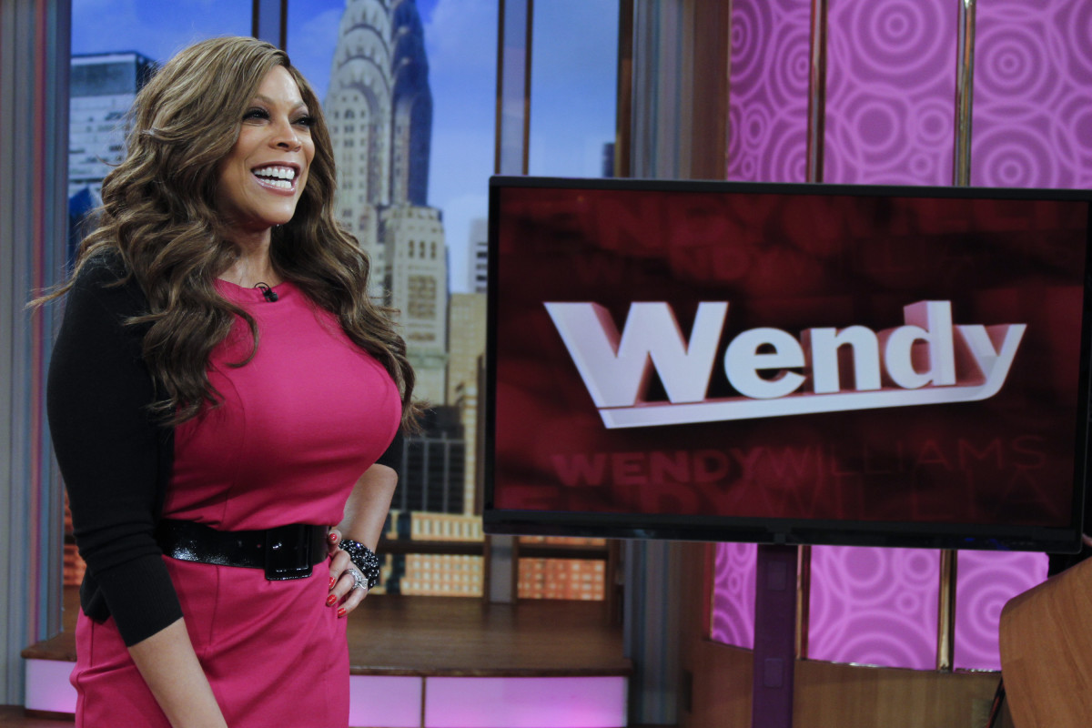 "Wendy Williams hosting ""The Wendy Williams Show"" on January 12, 2012, in New York City"