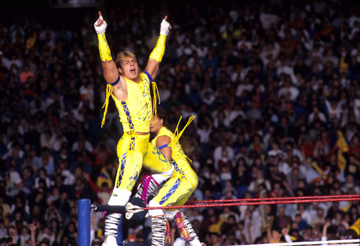 Shawn Michaels and Marty Jannetty
