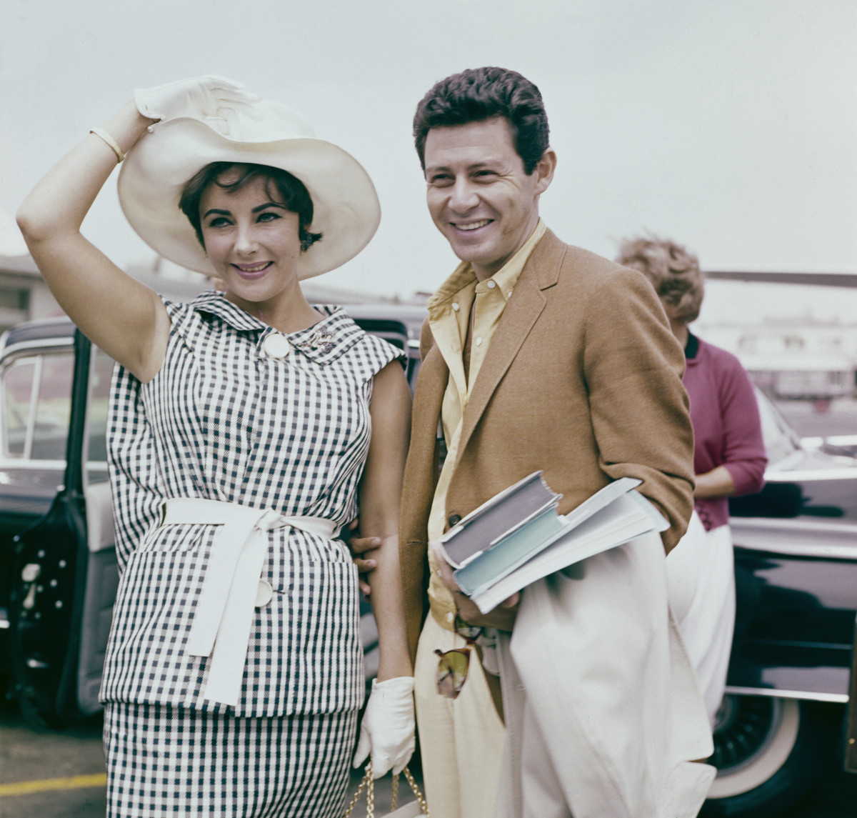 Elizabeth Taylor and Eddie Fisher, circa 1960