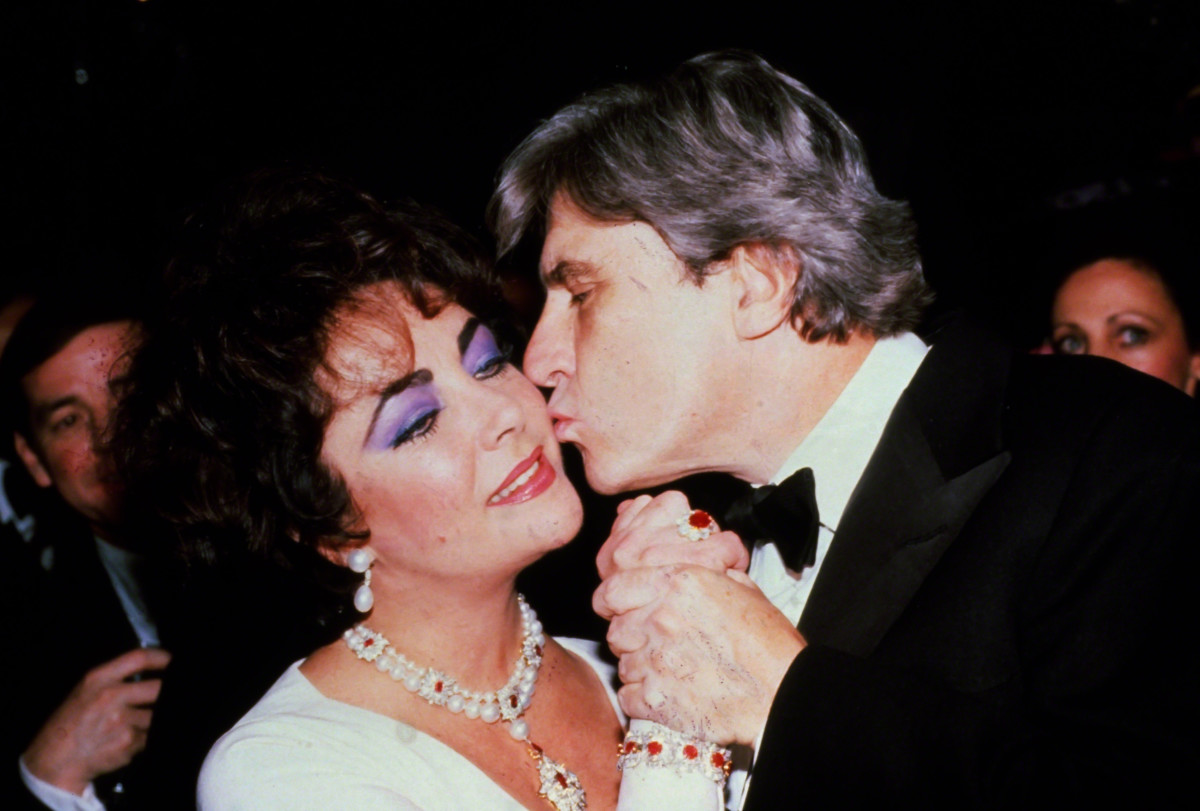 Elizabeth Taylor and John Warner