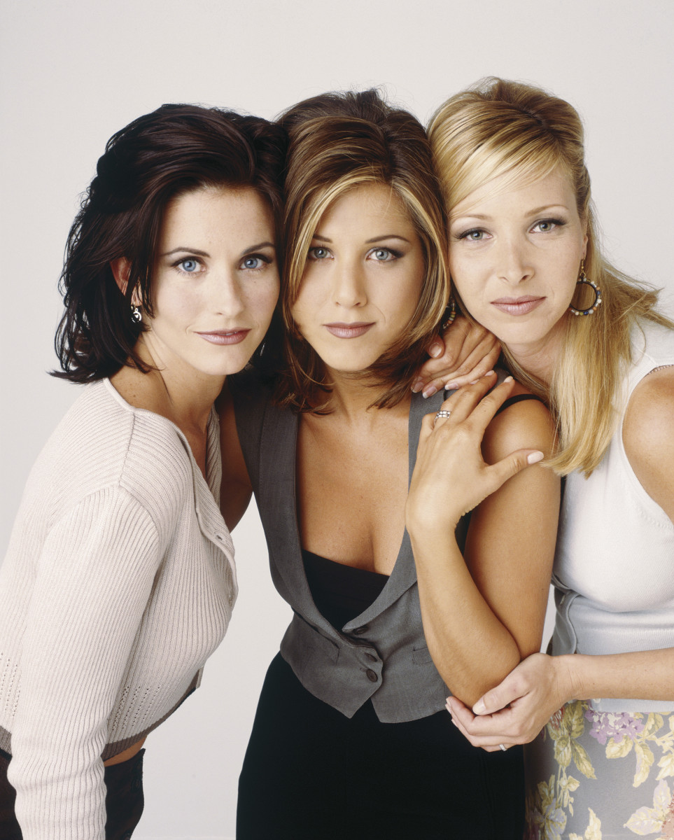 Jennifer Aniston Courteney Cox Lisa Kudrow