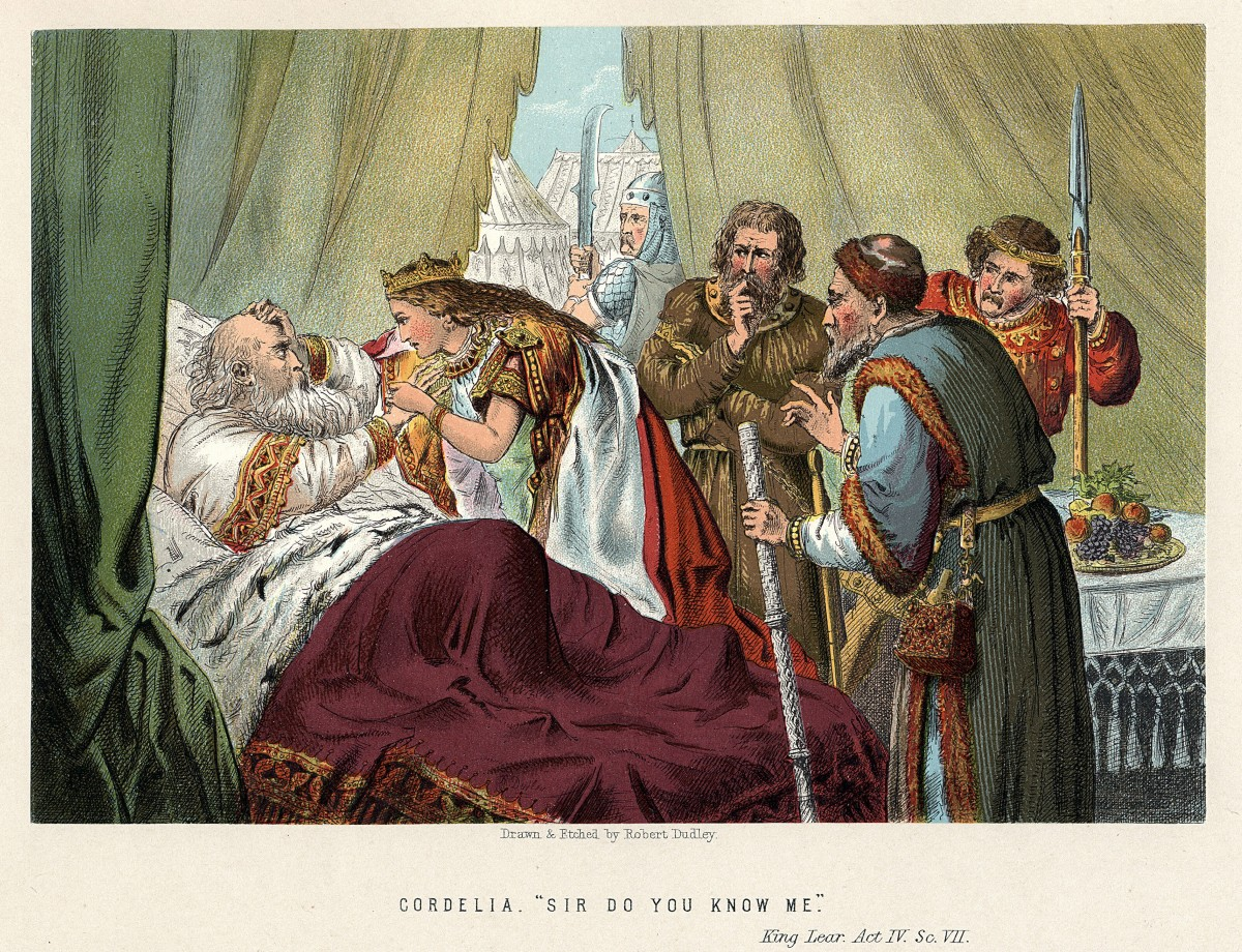 A scene from King Lear