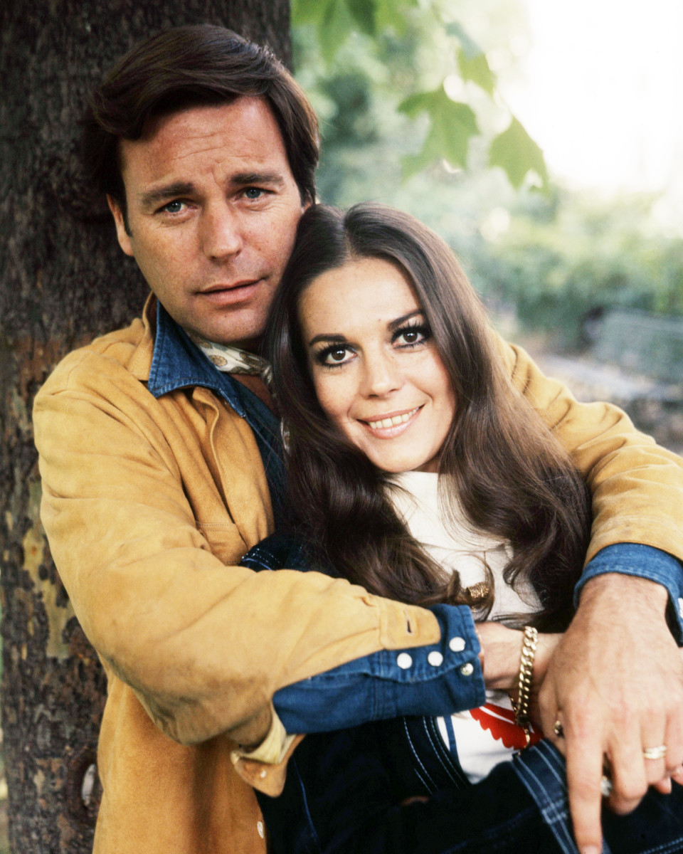 Robert Wagner and his wife Natalie Wood, circa 1970