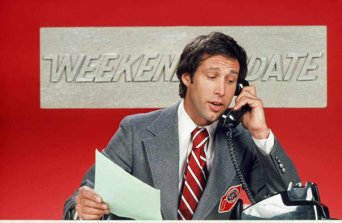 How Chevy Chase Helped Created 'Saturday Night Live's' 'Weekend Update'