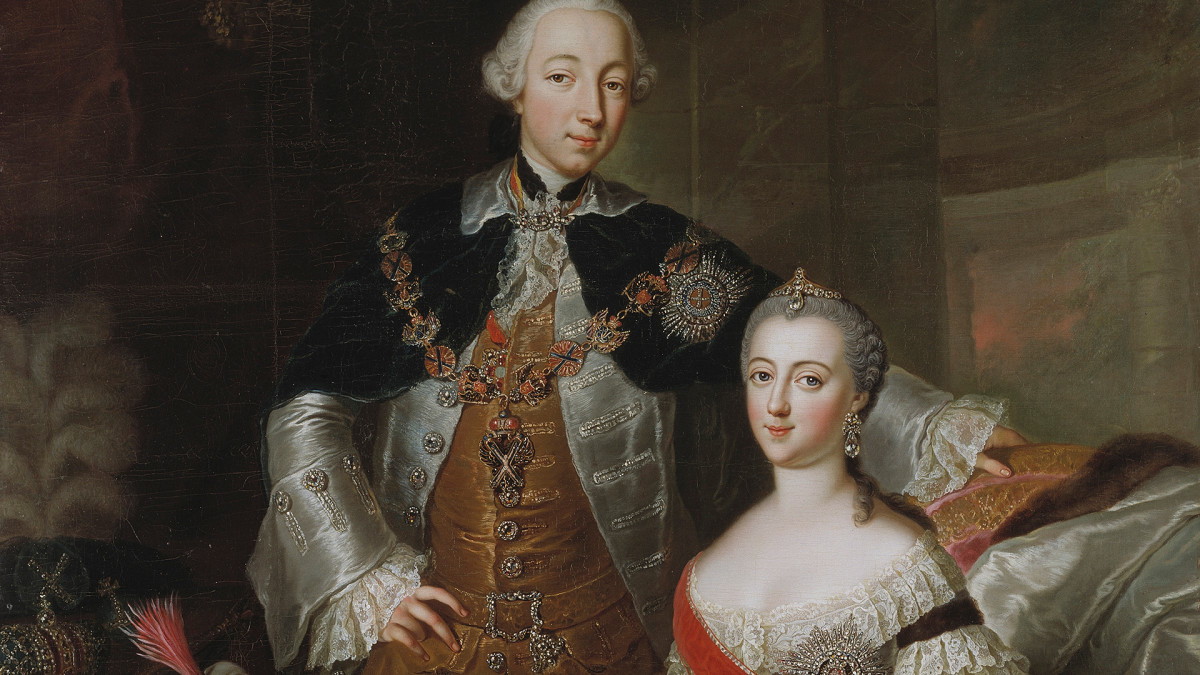 The Troubled Marriage of Catherine the Great and Peter III