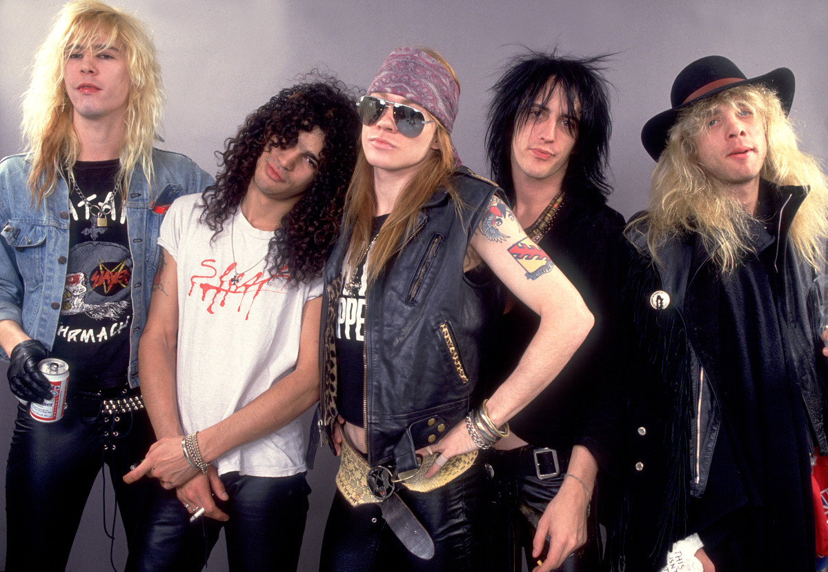 How Guns N' Roses Got Together to Form the Iconic Hard Rock Band