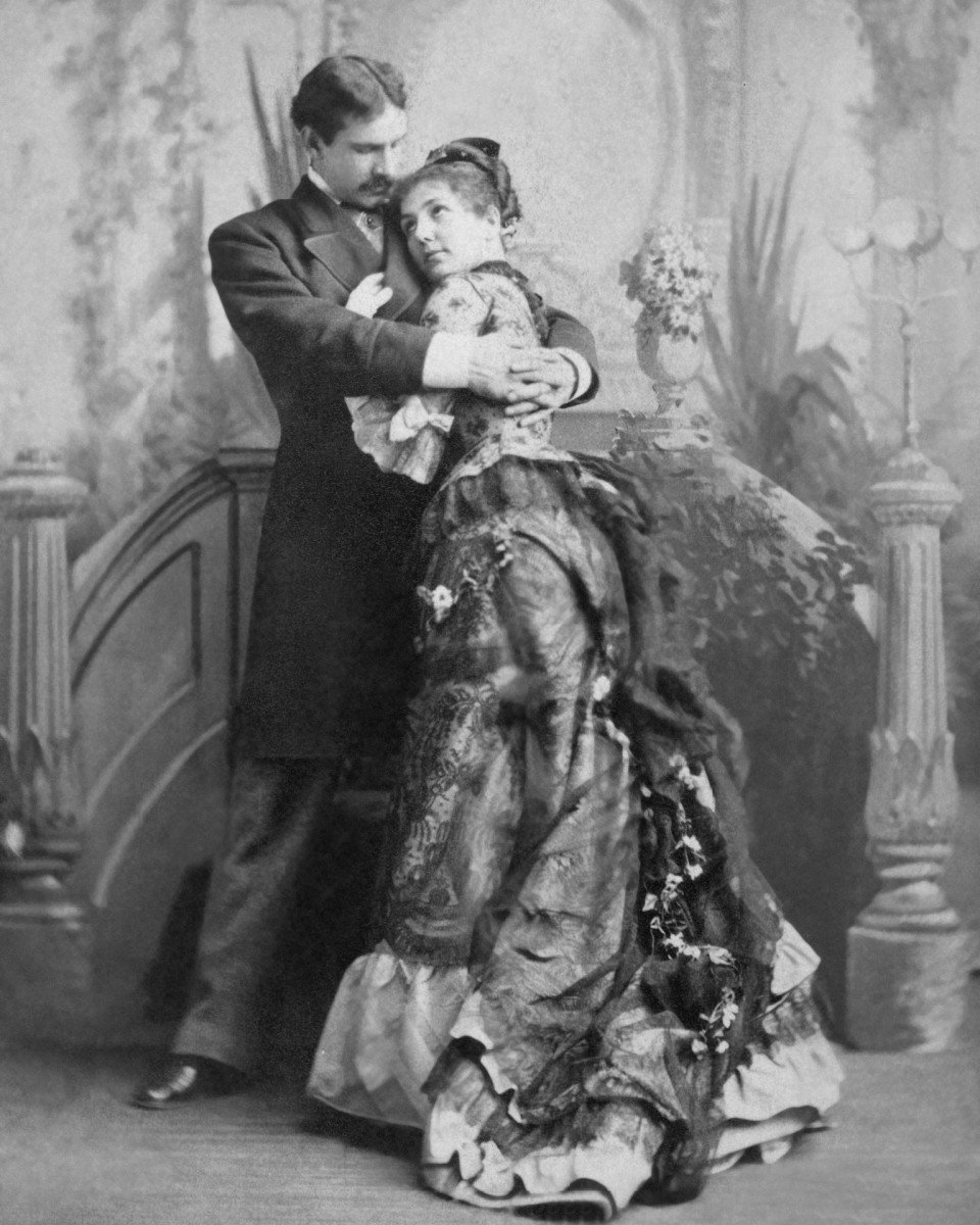 Maurice and Georgiana Barrymore, Drew Barrymore's great-grandparents