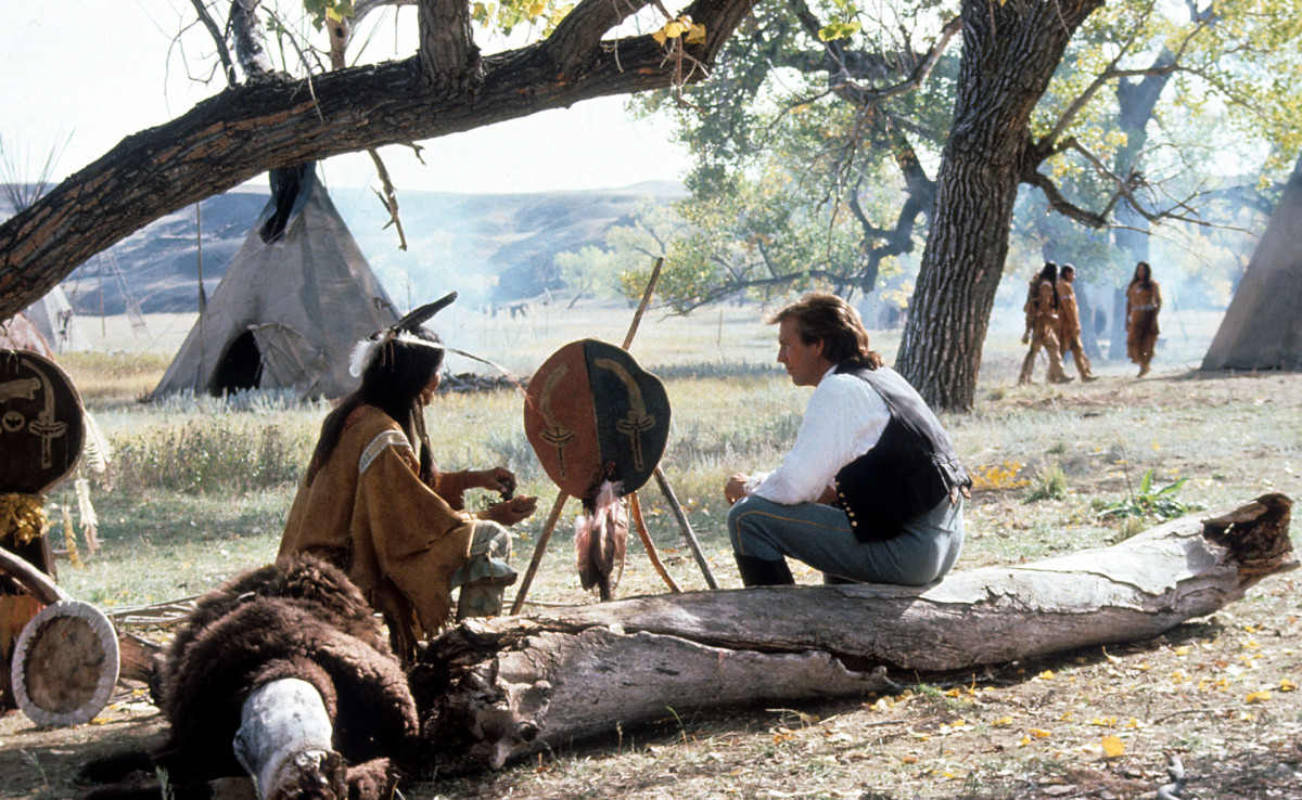 Kevin Costner in Dances with Wolves