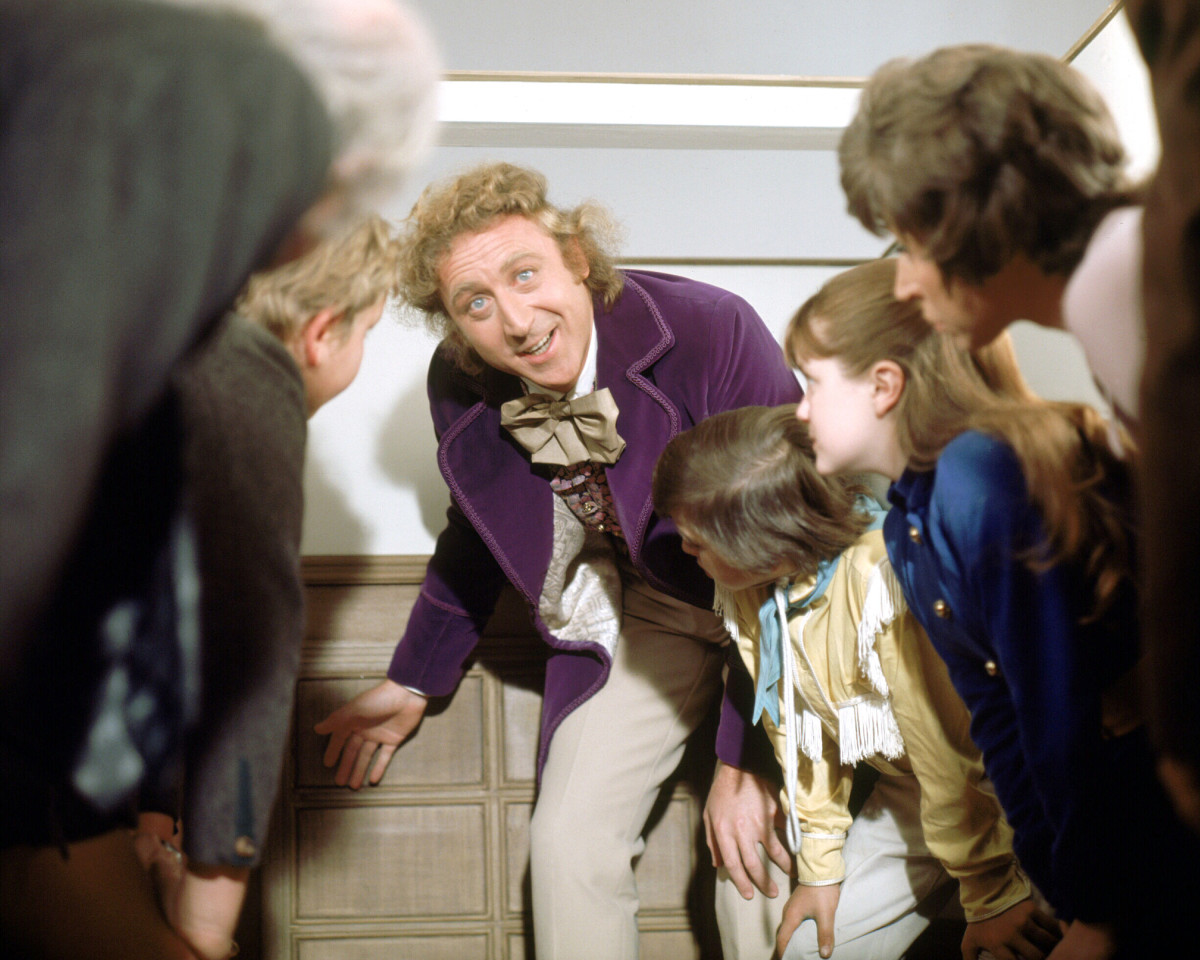 "Gene Wilder as Willy Wonka in ""Willy Wonka & the Chocolate Factory"""