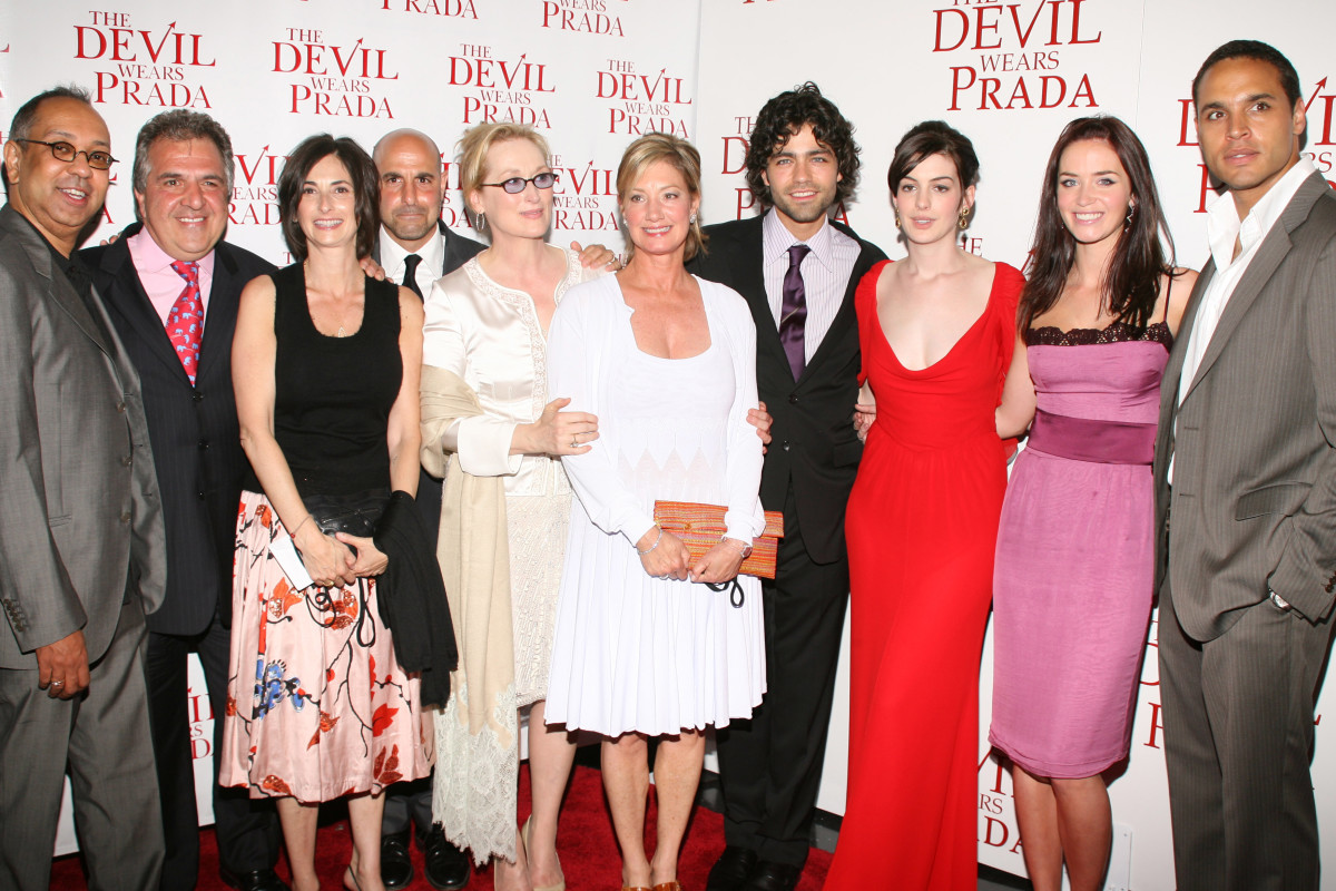 """Cast and crew from """"The Devil Wears Prada"""""""