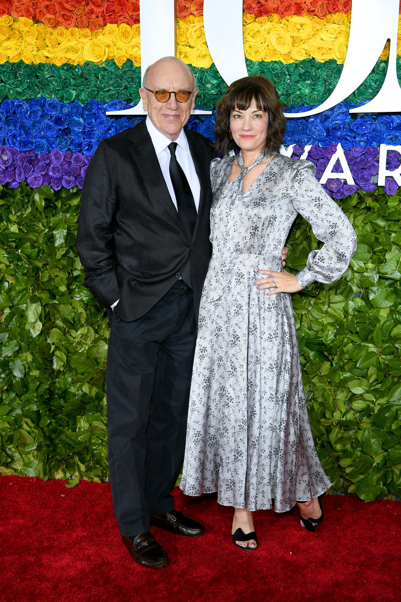 Mart Crowley and Natalie Wood's daughter Natasha Gregson Wagner at the 73rd Annual Tony Awards at Radio City Music Hall on June 9, 2019, in New York City